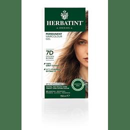 7D Tintura De Pelo Sin Amoniaco con Aloe Vera Herbatint