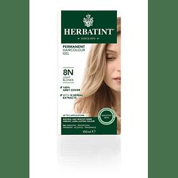 8N Tintura De Pelo Sin Amoniaco con Aloe Vera Herbatint
