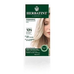 10N Tintura De Pelo Sin Amoniaco con Aloe Vera Herbatint