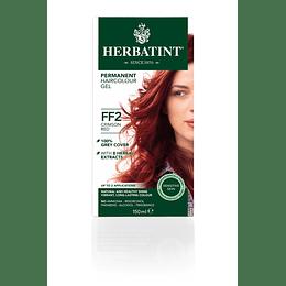 FF2 Tintura De Pelo Sin Amoniaco con Aloe Vera Herbatint