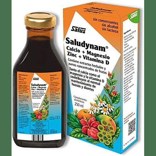 Saludynam Floradix 250 ml Tónico Calcio + Magnesio + Zinc + Vit