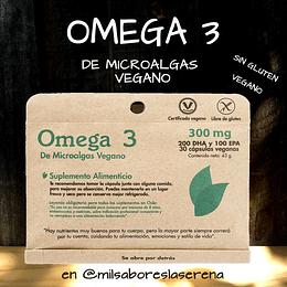 Omega 3, 30 cápsulas de 300 mg, Dulzura Natural