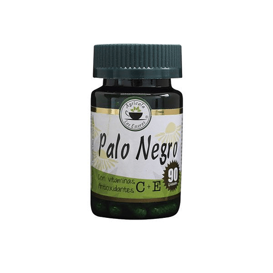Palo Negro 90 Cápsulas, Con Vitamina C + E