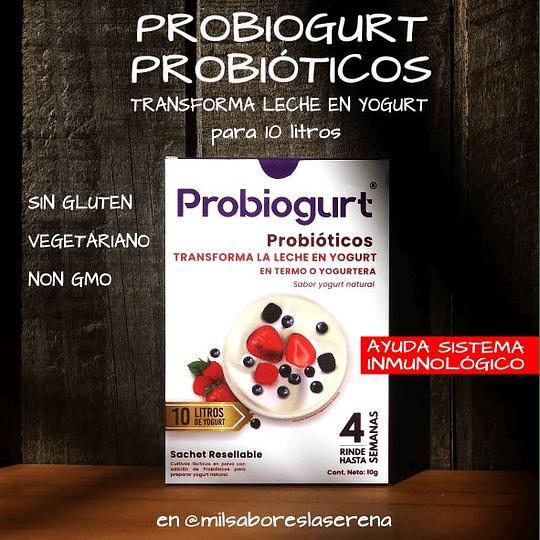 Probiogurt, 10g Para 10 litros De Yogurt, Probióticos