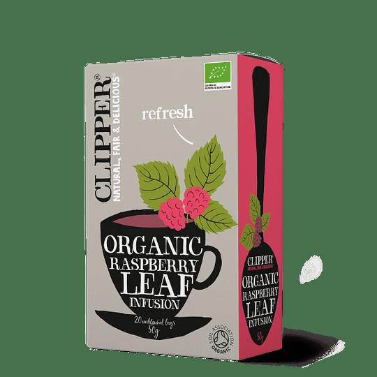Hoja Frambuesa Infusión Raspberry Leaf, 20 Bolsitas, Clipper