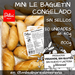 Baguetin Dilici, Congelado, 4 Un