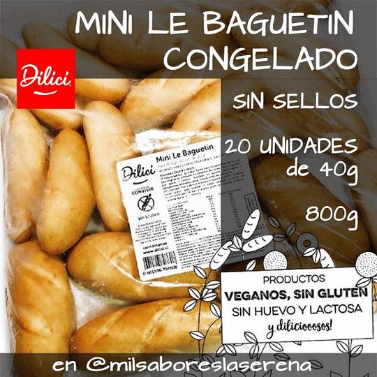 Dilici Baguetin Linaza, Congelado, 4 Un