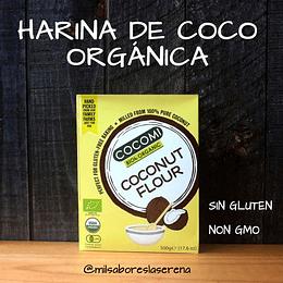 Harina De Coco 500g, Cocomi, Sin Gluten, Non Gmo