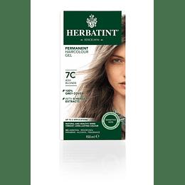 7C Tintura De Pelo Sin Amoniaco con Aloe Vera Herbatint