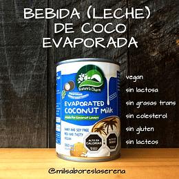 Bebida De Coco, Leche De Coco Evaporada, Naturescharm, 360ml, Evaporated