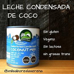 Leche Condensada De Coco, 320ml, Naturescharm