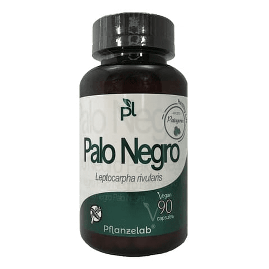 Palo Negro 90 Cápsulas, Pflanzelap