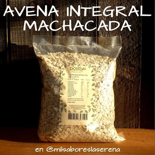 Avena Machacada Integral, 1kg, Positiv
