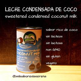 Leche Condensada De Coco, 200ml, Naturescharm, Sweetened Condensed