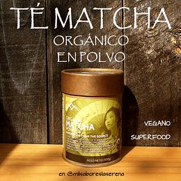 Té Matcha Orgánico, 100g, Primal Foods
