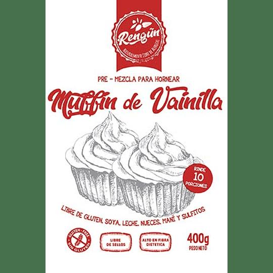 Premezcla Muffin, Rengun, 400g, 10 Porciones
