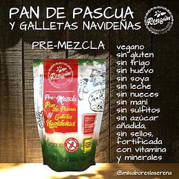 Premezcla Pan De Pascua Y Galletas Navideñas, Rengun, 350g