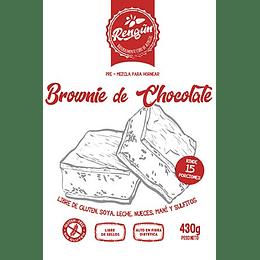 Premezcla Brownie, Rengun, 430g, 15 Porciones