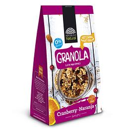 Granola Cranberry-naranja, 400g, Republica Natural