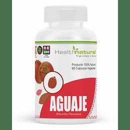 Aguaje 60 cápsulas, suplemento, Health Natural