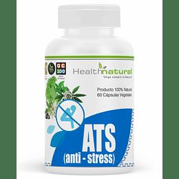 ATS (antistress), 60 cápsulas, suplemento, Health Natural