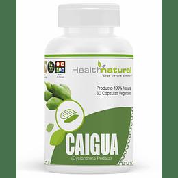 Caigua 60 cápsulas, suplemento, Health Natural