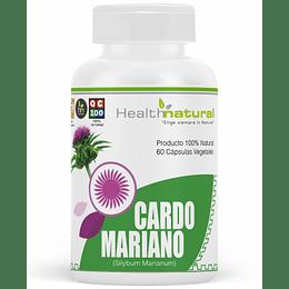 Cardo mariano 60 cápsulas, suplemento, Health Natural