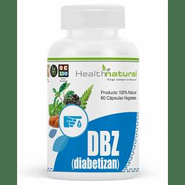 DBZ diabetizan, 60 cápsulas, suplemento, Health Natural