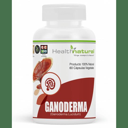 ganoderma 60 cápsulas, suplemento, Health Natural