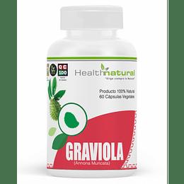 Graviola 60 cápsulas, suplemento, Health Natural