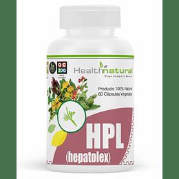 HPL 60 cápsulas, suplemento, Health Natural