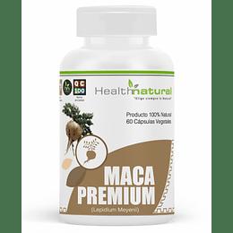 maca premium 60 cápsulas, suplemento, Health Natural