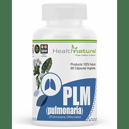 PLM Pulmonaria 60 cápsulas, suplemento, Health Natural