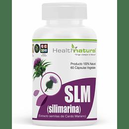 SLM Silimarina 60 cápsulas, suplemento, Health Natural