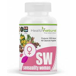 SW sensuality woman 60 cápsulas, suplemento, Health Natural