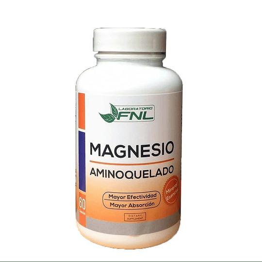 Magnesio Aminoquelado 60 cápsulas  FNL