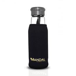 Botella con infusor 550ml - Negra