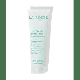 Gel-Crema Facial Hidratante Con Pepino Orgánico, La Rosee