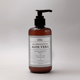Aloe Vera - Gel Dermico Hidratante Apícola del Alba