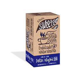 Té Detox Night con Stevia 20 bolsitas Sweetea
