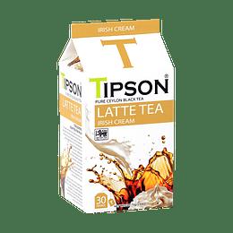 Té Latte Irish Cream, Crema Irlandesa, 30 bolsitas - Tipson  LATTE TEA
