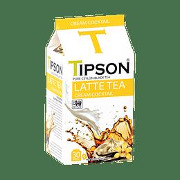 Té Latte Cream Cocktail 30 bolsitas - Tipson LATTE TEA