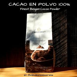 Cacao en Polvo Belga Bolsa 1 Kg Callebaut