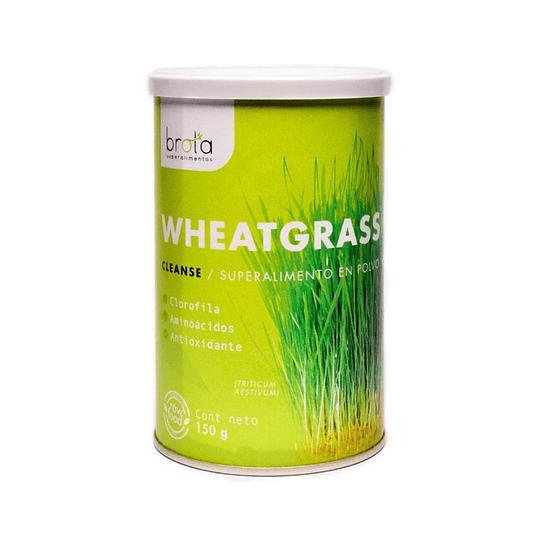 Wheatgrass Cleanse - Germinado de Trigo Suplemento, Brota