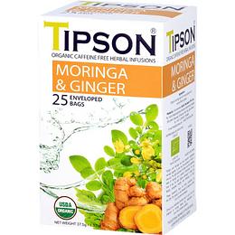 Té Moringa Ginger, Jengibre Tipson 25 bolsitas