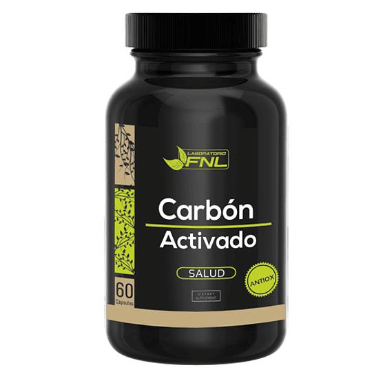 Carbon Activado 60 cápsulas FNL