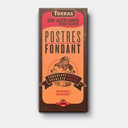 Chocolate Para Fundir - Postres Fondant Sin Azúcar Torras