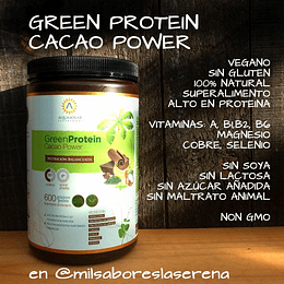 Green Protein Cacao Power 600 g