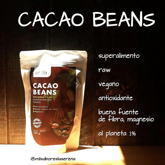 Cacao Beans 350gr, Granos de Cacao - Brota