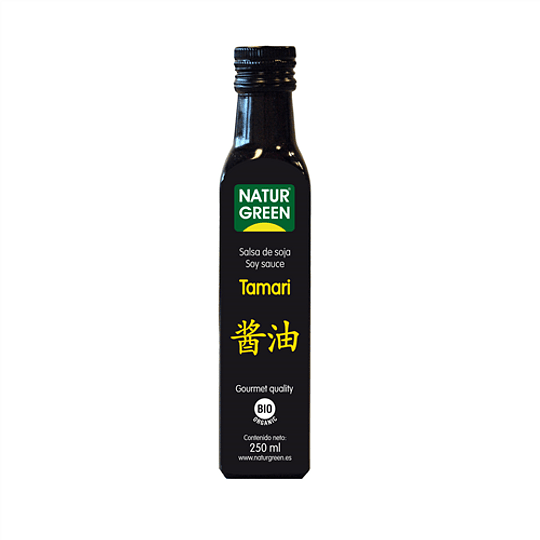 Salsa de Soya Tamari 250ml - Naturgreen